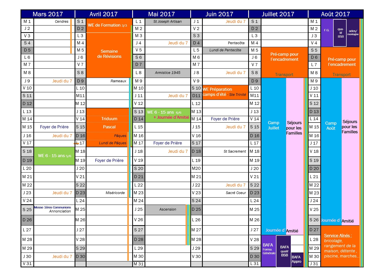 AGENDA 2016-2017 2-2