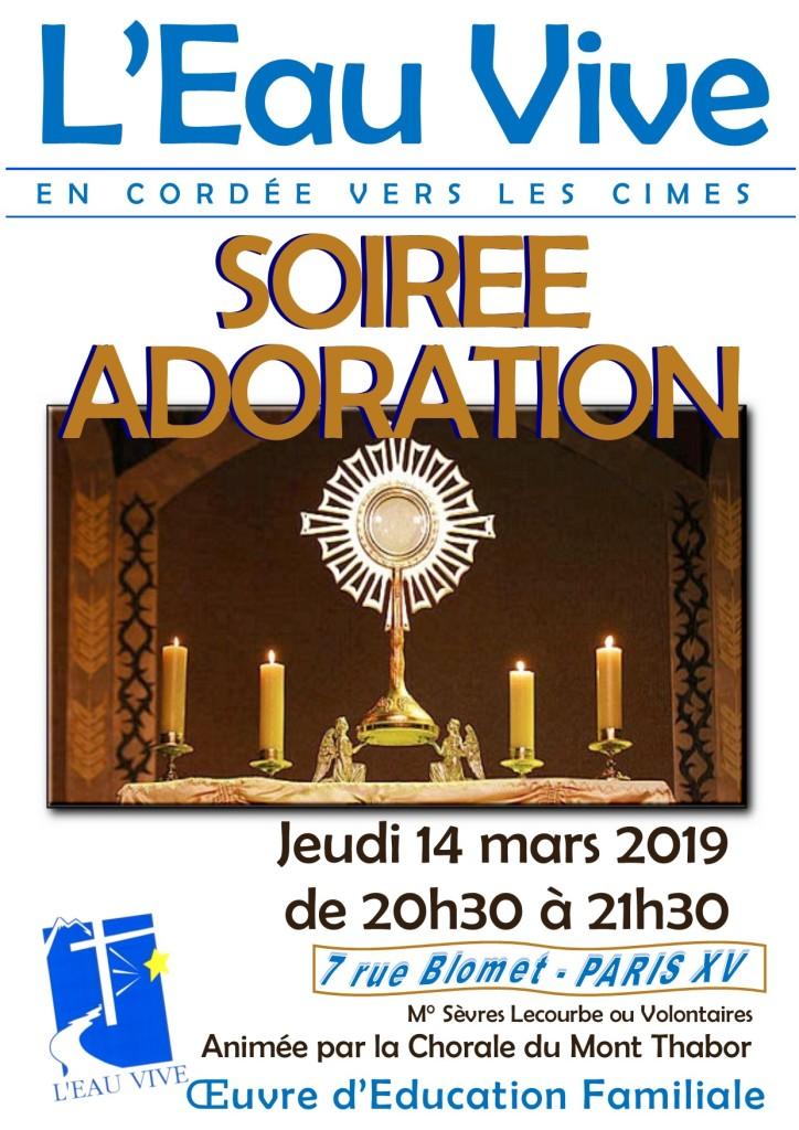 Soirée Adoration