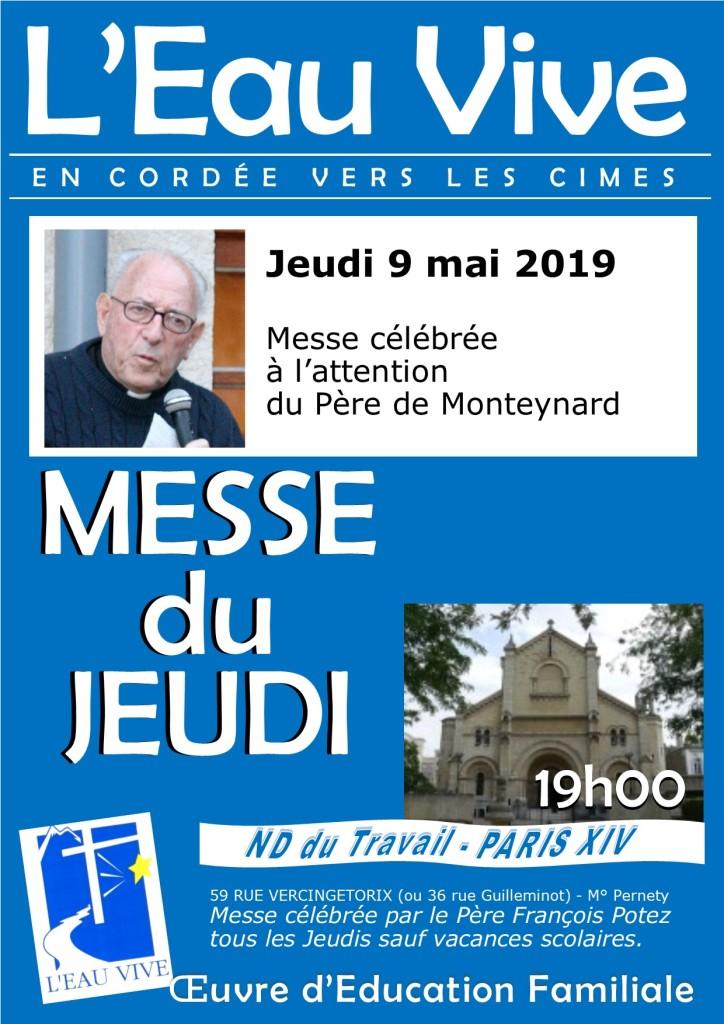 Affiche Messe du jeudi 9 mai 2019